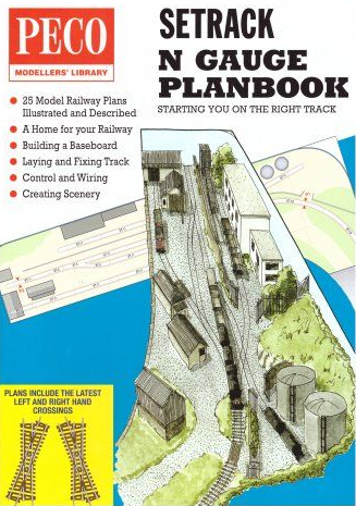 Peco IN-1 Peco N Setrack Planbook