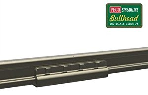 Peco SL-114 Rail Joiners, nickel silver, for Code 75 Bullhead