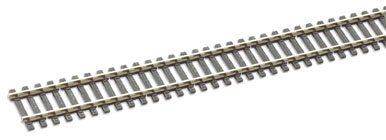 Peco SL-100 Wooden sleeper type Code 100, nickel silver rail - 914mm x1