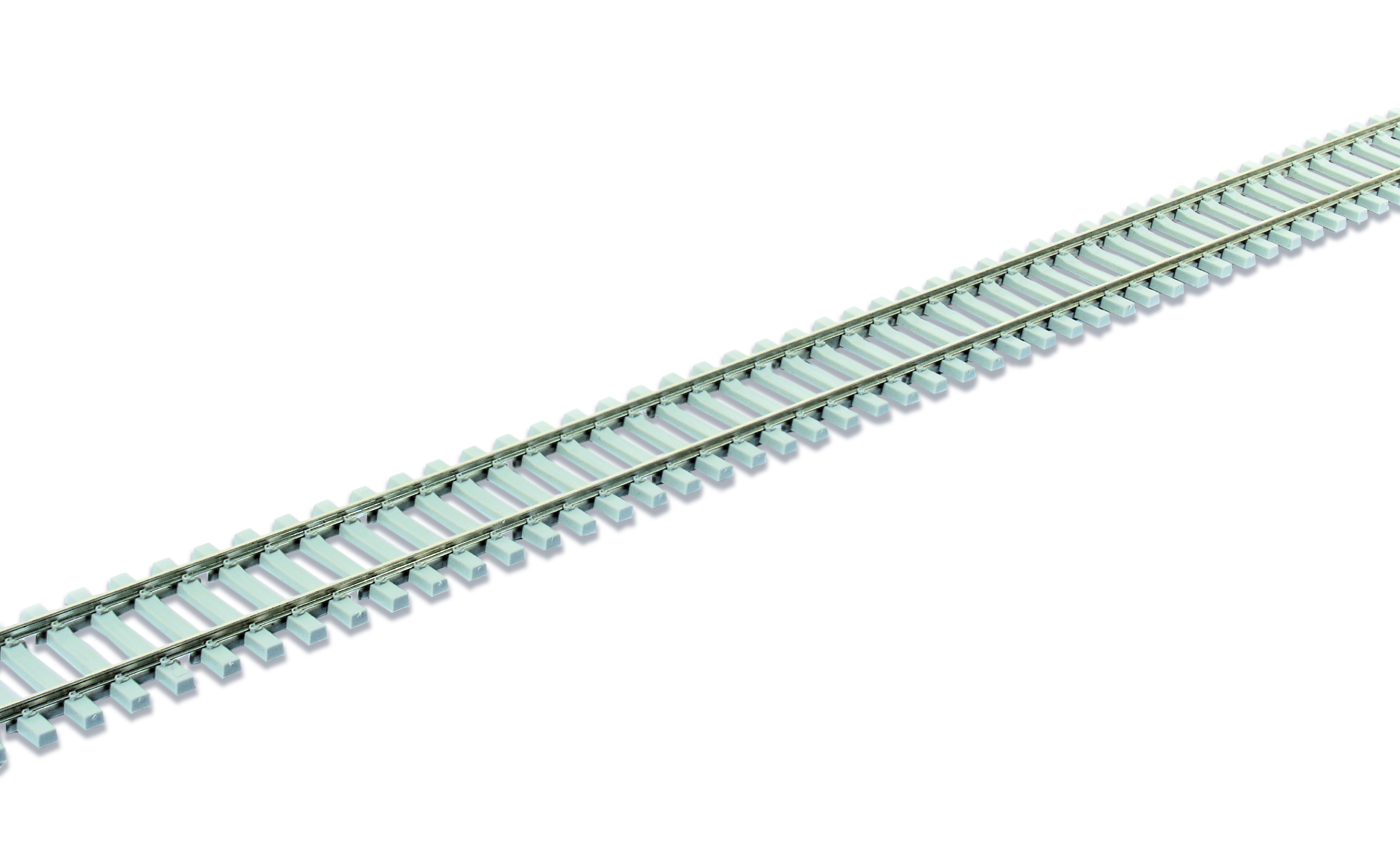 Peco SL-102Fb Concrete sleeper type Code 75, nickel silver rail - 914mm x 25
