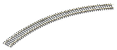 Peco ST-231 No.3 Radius Double Curve, 505mm (19 inches) radius