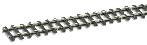 Peco SL-500 O-16.5 Wooden sleeper type, Nickel Silver Rail - 914mm length x1