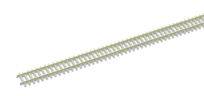 Peco SL-302F Concrete sleeper type Code 55, Nickel Silver Rail - 914mm length x1