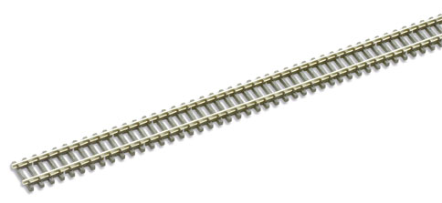 Peco SL-300 Wooden sleeper type Code 80, Nickel Siver Rail - 914mm length x1