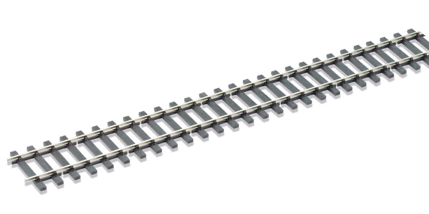 Peco SL-700BHb Code 124 Wooden sleeper type Bullhead, nickel silver rail - 914mm length x12