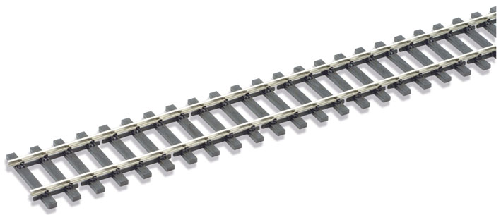 Peco SL-700FB Code 143 Wooden sleeper type Flatbottom, Nickel Silver Rail - 914mm length x1