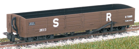Peco GR-231 Lynton & Barnstaple 8t Bogie Open Wagon SR brown