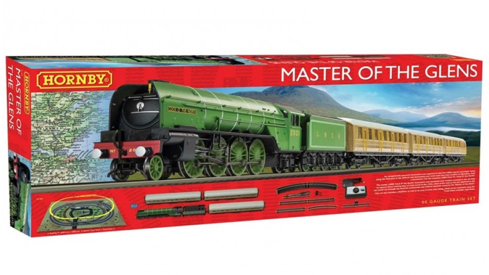 Hornby R1183 Master of the Glens Train set DCC Ready