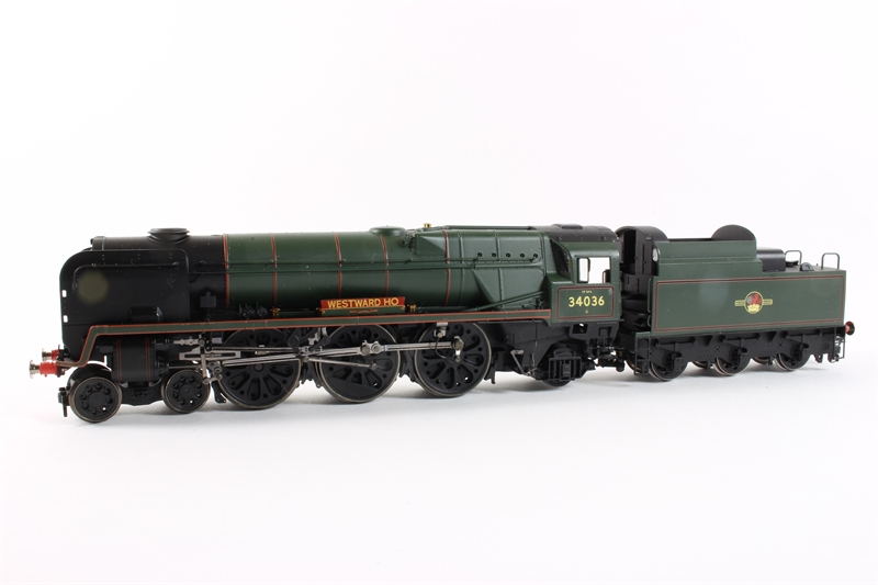 Hornby R2609 BR 4-6-2 West Country Class 34036 'Westward Ho'