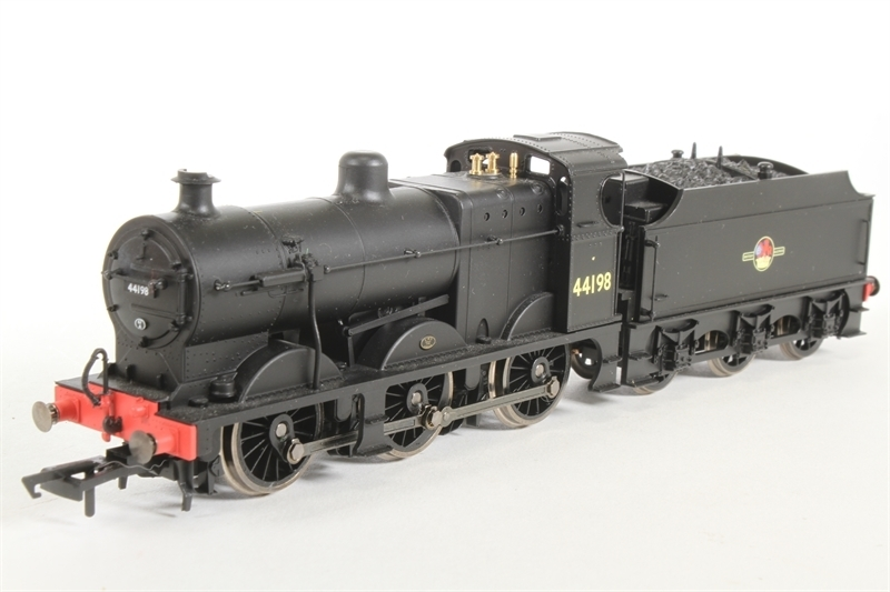 Hornby R3460TTS BR (Late) Fowler 0-6-0 Class 4F Locomotive '44198' (With Sound)