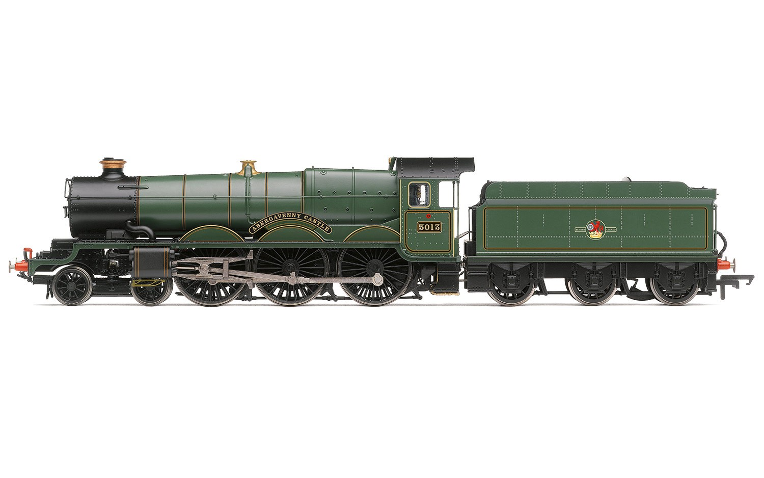 "Hornby R3619 BR (late) Castle Class 4-6-0 ""5013"" ""Abergavenny Castle"""
