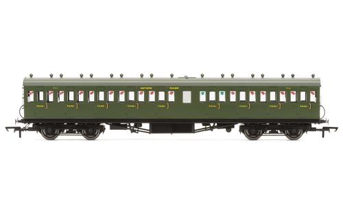 Hornby R4720A Hornby EX LSWR Non Corridor 3rd Class coach - Click Image to Close