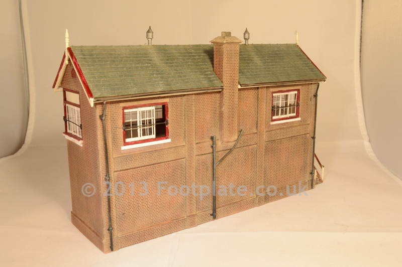 Scratch Built LMS Signal Box - Fictitious