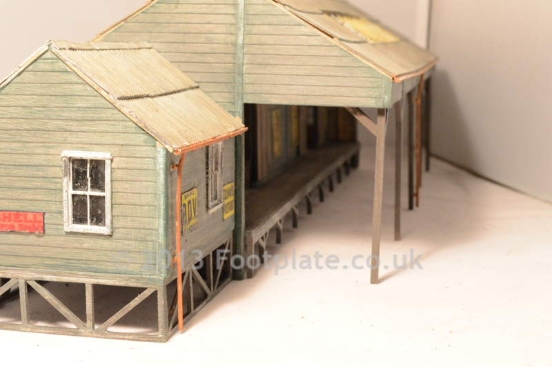 Scratch Built Goods Shed