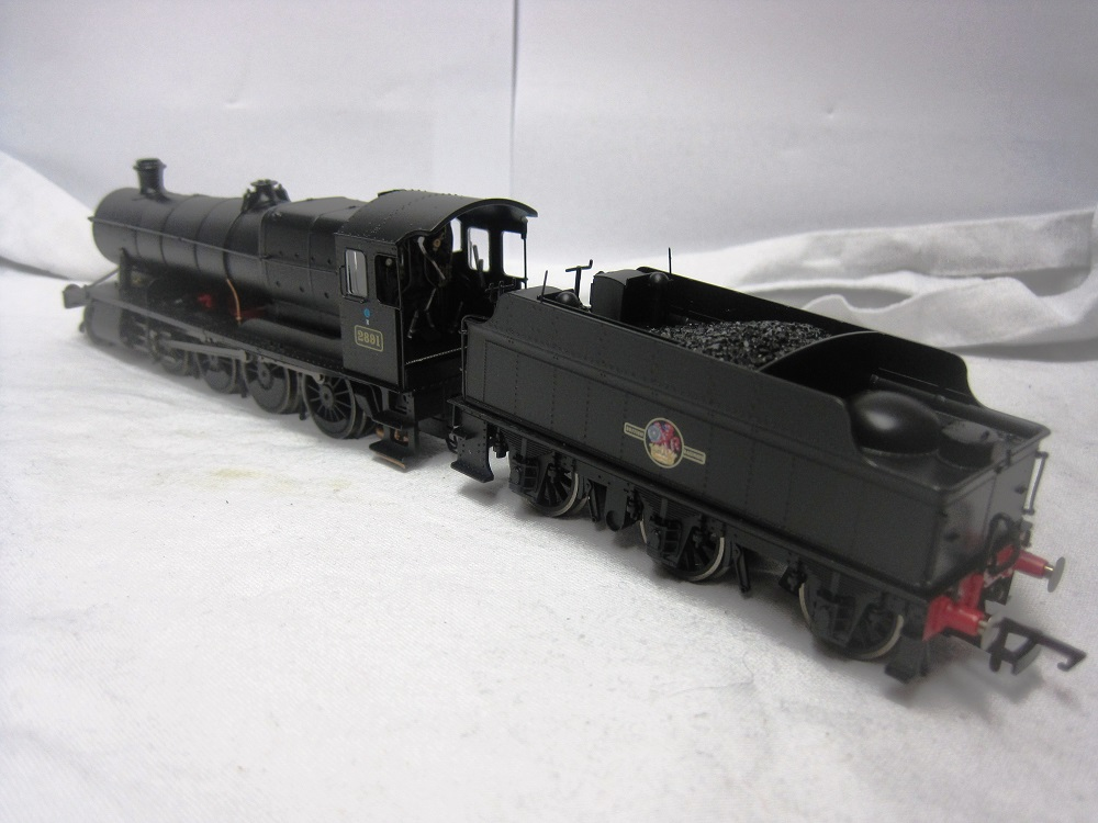 Hornby R2919XSH 28xx Class 2-8-0 2891 BR Black with late crest (DCC Fitted) - (second hand)