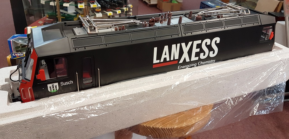 "LGB 21426 Rhb Ge 4/4 III Electric Locomotive ""LANXESS"" (DCC Sound) - (second hand)"