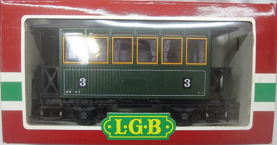LGB 3040 3rd Class Passenger Car - (second hand)