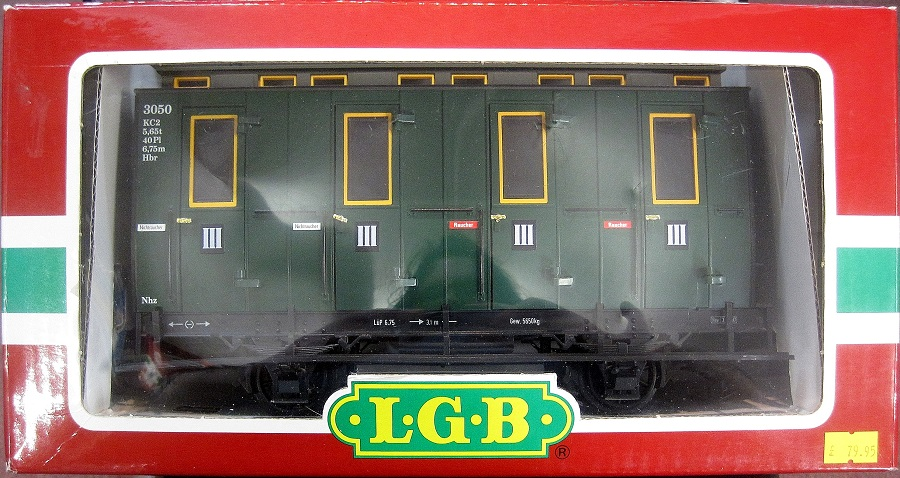 LGB 3050 Passenger Compartment Coach - (second hand)