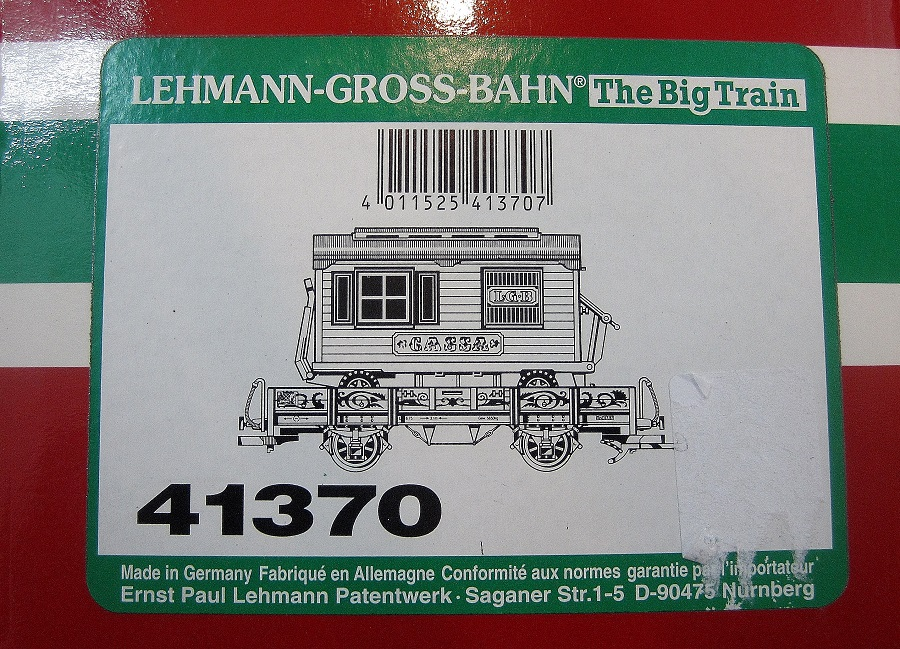 LGB 41370 Circus Flat Car with Trailer - (second hand)