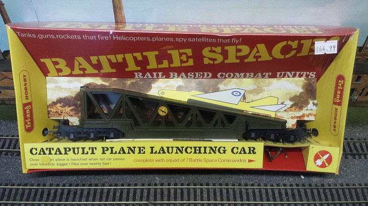 Triang Hornby Battlespace Catapult Plane Launching Wagon