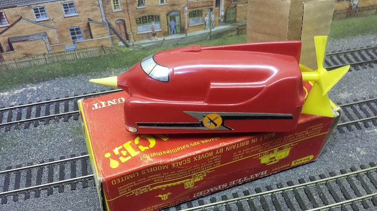 Triang Hornby Battlespace Turbo Car - (second hand)