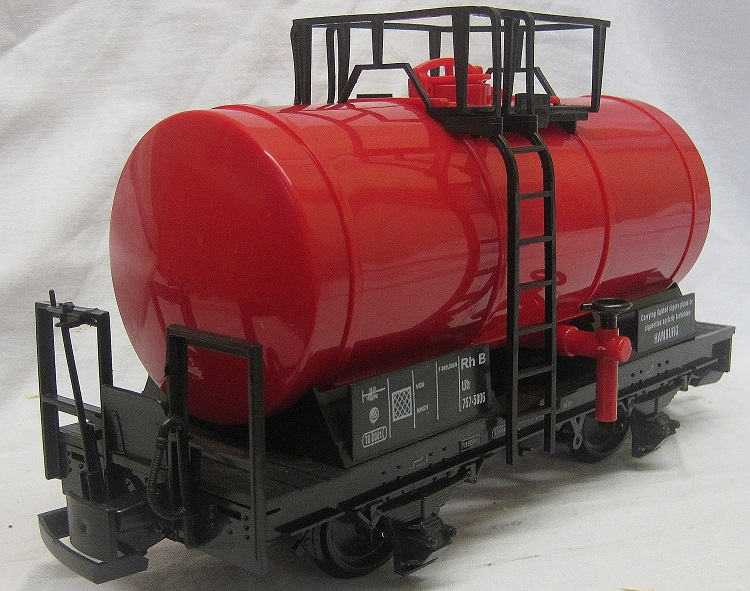 TRAIN 757-5806R 4 Wheel Tank Wagon Red