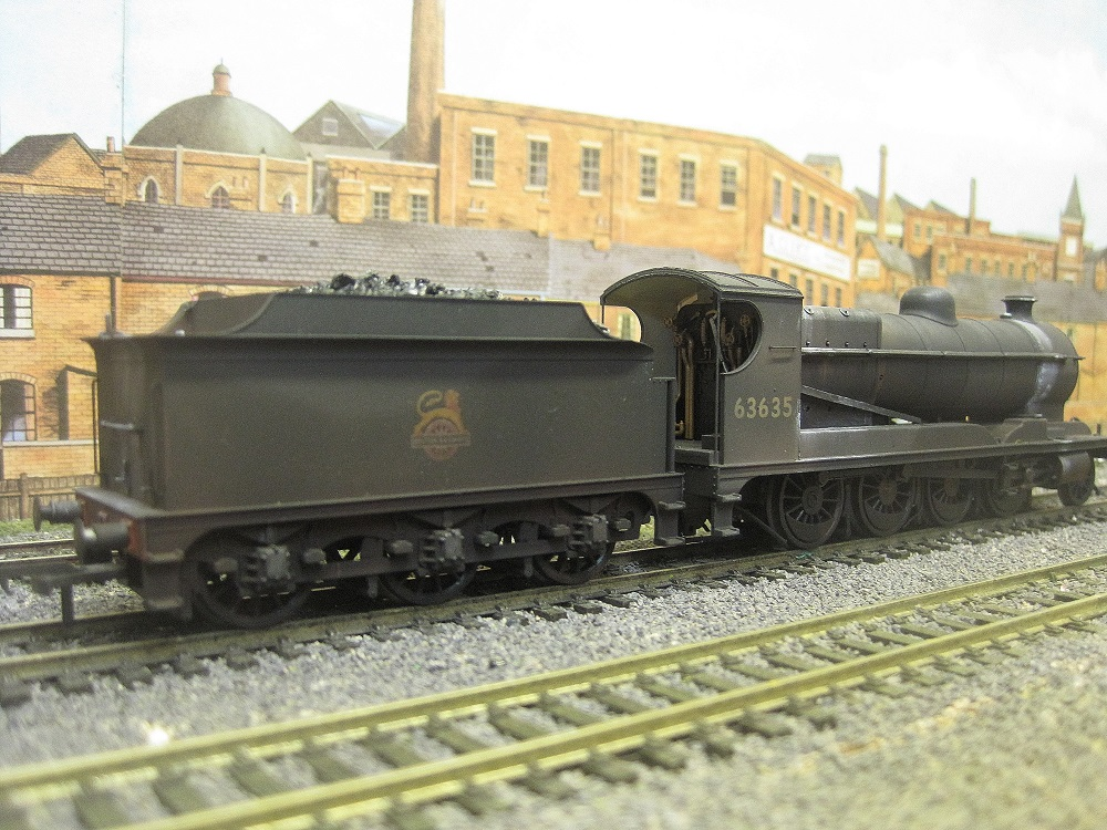 Steam weathering example - not for sale