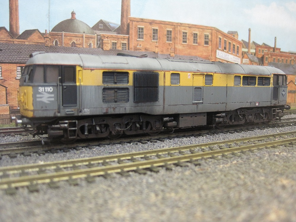Diesel weathering example - not for sale