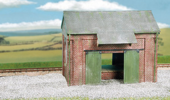 Wills CK19 Goods Shed, Brick Type