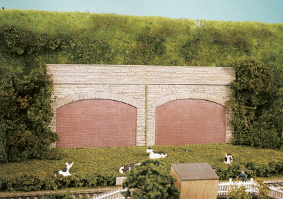 Wills SS69 Stone Type Retaining Arches (4)