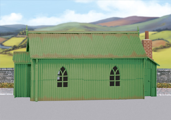 Wills SS70 Corrugated Iron Chapel