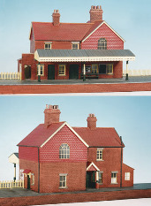 Wills CK16 Country Station, Brick Built, With Platform