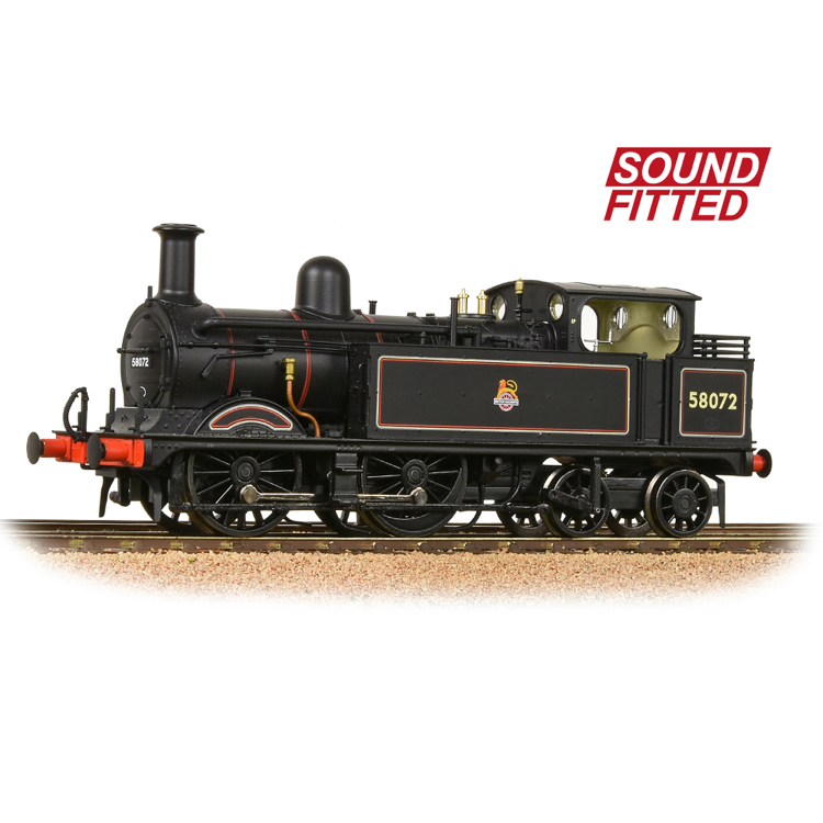 Bachmann 31-742SF MR 1532 (1P) Tank 58072 BR Lined Black (Early Emblem)