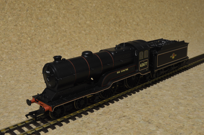 Bachmann 31-136DC LNER Class D11/2 62677 'Edie Ochiltree' BR Black with late crest (DCC Fitted)