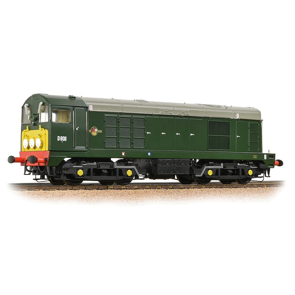 Bachmann 32-027B CLASS 20 - D8011 BR GREEN WITH SMALL YELLOW PANELS DIESEL LOCOMOTIVE