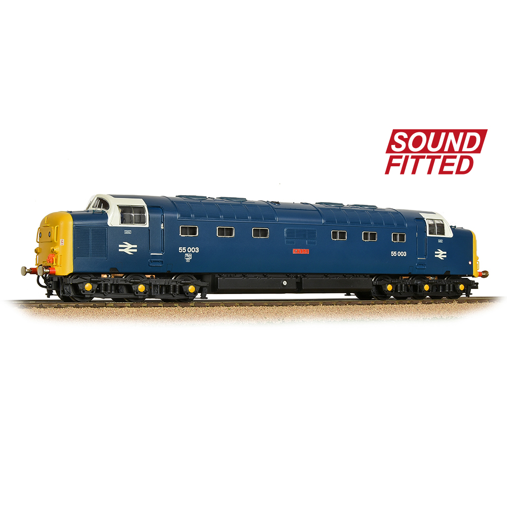 Bachmann 32-532ASF Class 55 'Deltic' 55003 'Meld' BR Blue