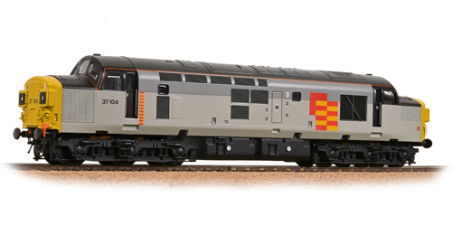 Bachmann 32-775NFDS Class 37/0 37104 Railfreight General Cockney Sparrow (Sound)