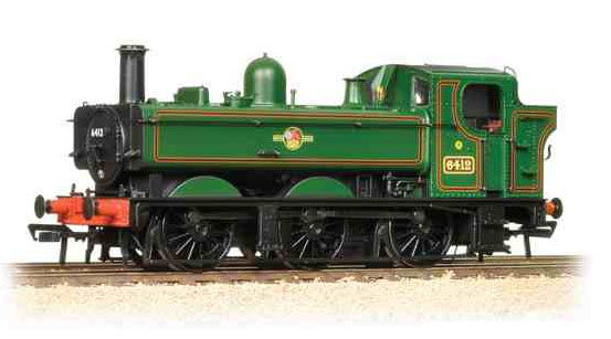 Bachmann 31-637 Class 64xx 0-6-0 Pannier Tank 6412 BR Lined Green with late crest
