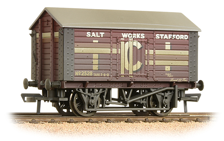 Bachmann 33-186 10t Salt Wagon ICI (weathered)