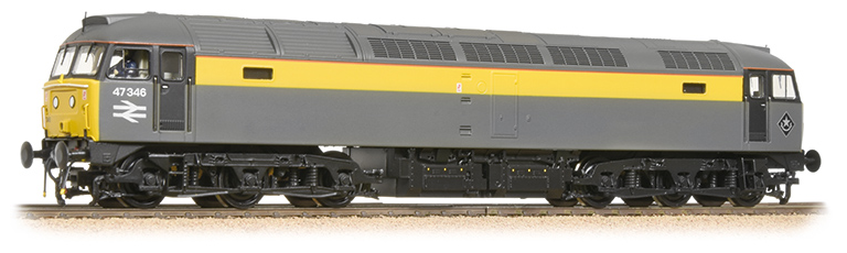 Bachmann 31-661DS Class 47/3 47346 BR Departmental Dutch (DCC Sound)