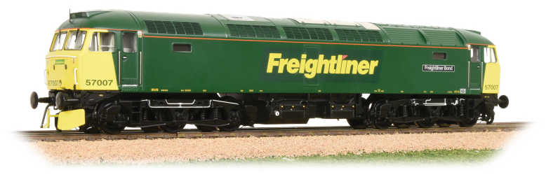 Bachmann 32-753DS Class 57/0 57007 'Freightliner Bond' Freightliner (DCC Sound)