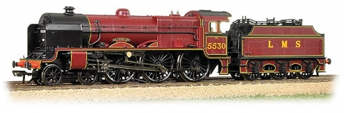 Bachmann 31-204 Patriot Class 4-6-0 5530 'Sir Frank Ree' LMS Lined Crimson