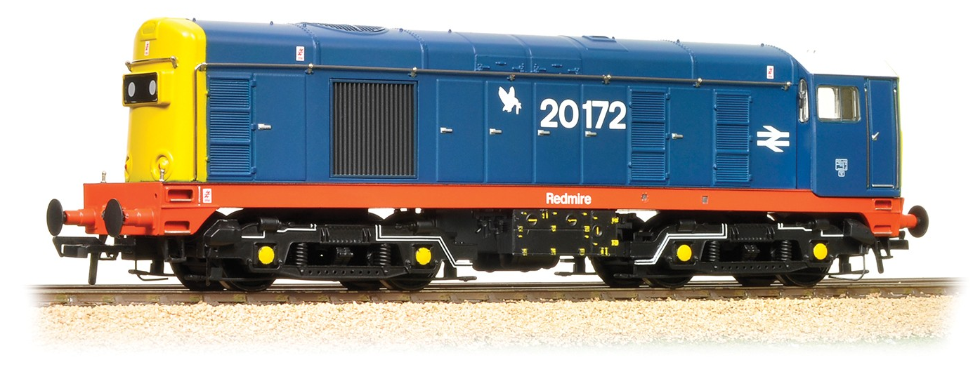 Bachmann 32-035K Class 20 20172 'Redmire' BR Blue with red solebar - Collectors Club