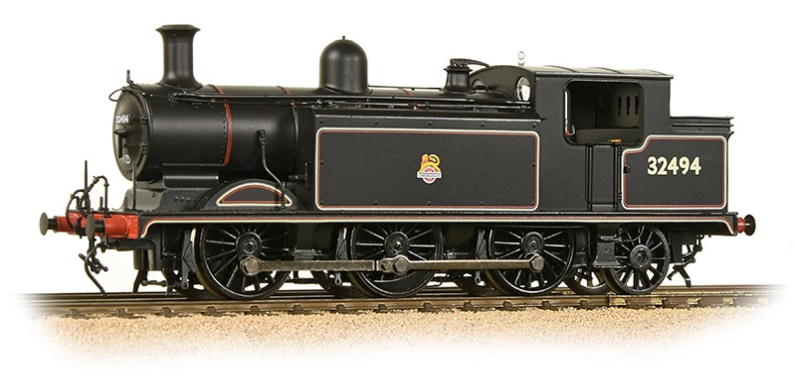 Bachmann 35-079 Class E4 0-6-2 32494 BR Lined Black with early crest