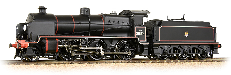 Bachmann 32-165 N Class 2-6-0 31874 BR Lined Black with early crest