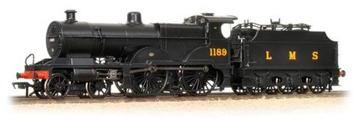 Bachmann 31-931 Midland 4-4-0 Compound 1189 LMS Black