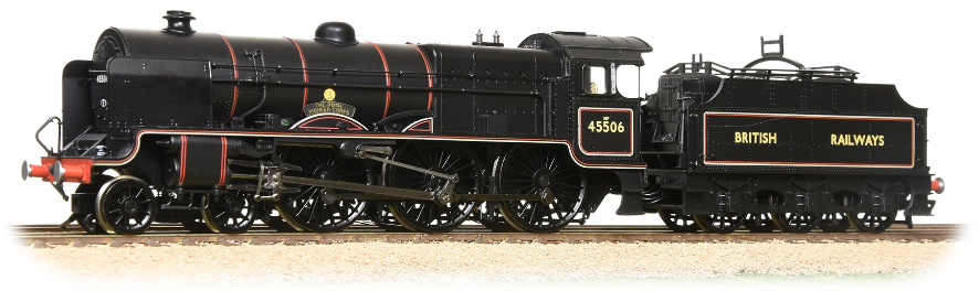 Bachmann 31-210K Patriot Class 4-6-0 45506 'The Royal Pioneer Corps' BRITISH RAILWAYS lined black - Collectors Club