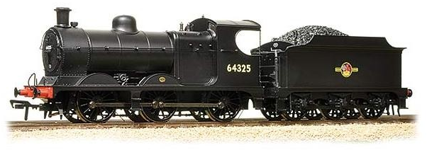 Bachmann 31-320DC Robinson Class J11 64325 BR Black L/Crest (DCC Fitted)