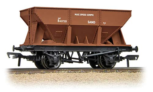 Bachmann 37-507 24t Ore Hopper Wagon BR Bauxite - Click Image to Close