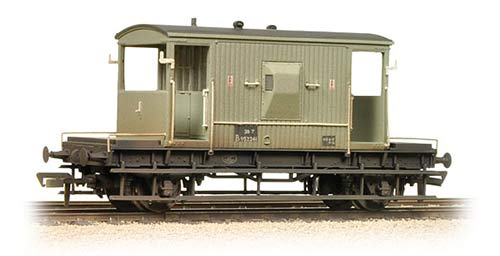 Bachmann 37-530 20t Brake Van BR Grey Weathered
